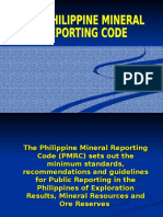 Philippine Mineral Reporting Code