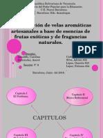 Diapositivas Proyecto Dani fabricación de velas
