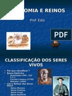 Biologia PPT - Botânica - Taxonomia e Reinos