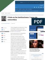 Www Elmostrador Cl Noticias Opinion 2016-08-05 Crisis en Las