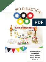 Unidad Didáctica Las Olimpiadas