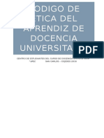 Codigo de Etica Para El Grupo UPEL