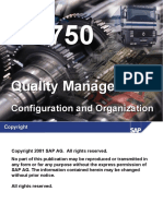 LO750 - Quality Management Configuration and Organization.ppt