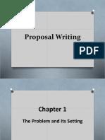 Proposal Writting