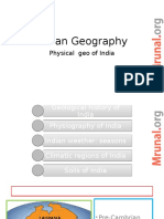GEO L8 Geological History India