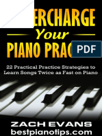 Supercharge Your Piano Practice eBook