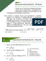 Análise Da Corrente de Curto-Circuito IFSC