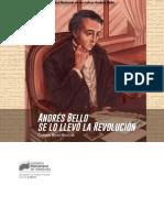 Andrés Bello Se Lo Llevó La Revolución