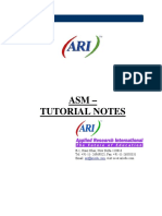 Asm Consolidated NEW notes