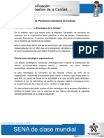 Actividad de Aprendizaje Unidad 2 Planificacion Estrategica de La Calidad