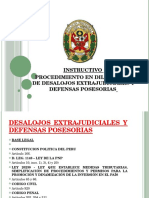 INSTRUCTIVO DESALOJOS EXTRAJUDICIALES Y DEFENSAS POSESORIAS.pptx