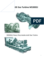 GE Gas Turbine MS3002 Technical Data
