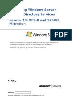 Module 10_Sysvol Migration