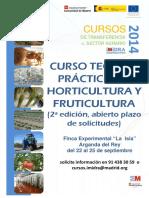 Cartel Horticultura 2ª Edicion
