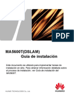 6. MA5600T Installation Guide(MSAN,2)-Spanish