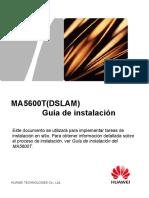 6. MA5600T Installation Guide(MSAN,2)-Spanish