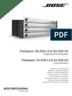 Ig FreeSpace 2120 HZ-LZ Amps