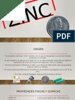 Zinc (Usos)