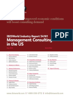 Management Consulting in the US Industry Report