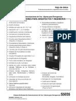 Hoja de Datos Siemens Español