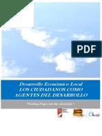 Desarrollo Económico Local. LOS CIUDADANOS COMO AGENTES DEL DESARROLLO