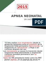 Apnea Neonatal 2015