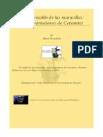 El Retablo de Las Maravillas Multimedia Cinco Variaciones Sobre Un Tema de Cervantes 0