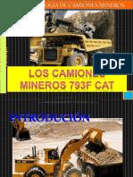 Curso Controles Operacion Camiones Mineros 793f Caterpillar