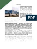 Resena Historica del Hospital Belén de Trujillo