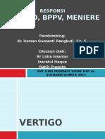 Vertigo, BPPV, Meniere Disease