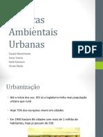 Politicas Ambientais Urbanas