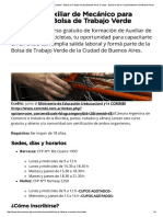 CCurso de Auxiliar de Mecánico para Bicicletasurso de Auxiliar de Mecánico Para Bicicletas Buenos Aires Ciudad