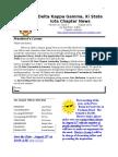 Newsletter 16Aug