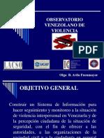 Esfuerzos en Venezuela Olga Avila