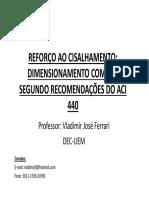 Dimensionamento Reforço Ao Cisalhamento FRP [Modo de Compatibilidade]