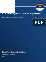 Caderno BIB (Comunicação Intra e Interpessoal 2016)