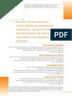 Artigo 2 - Impactos Da GC Na Orientação Estratégica e Resultados_RAM_Mar2014