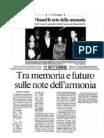 Giancarlo Rossi - (salv)agente di cambio - PDF Rassegna Stampa Compagnia per la Musica di Roma il messaggero 1209