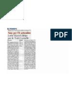 Giancarlo Rossi - (salv)agente di cambio - PDF Rassegna Stampa Compagnia per la Musica di Roma il tempo 0809