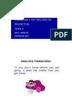Tema 4 Evaluación Financiera Proyectos 2015
