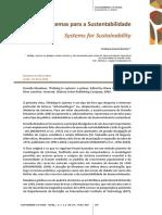 Sistemas Para a Sustentabilidade