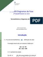 Aula02_Termodinâmica Diagramas de fase