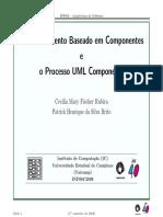 Desenvolvimento Baseado Em Componentes e o Processo UML Components