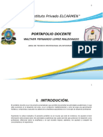 Portafolio Docente Walther Lopez