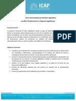 2. Programa Derecho Parlamentario y Órganos Legislativos Final
