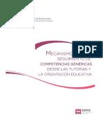 Mecanismo Para El Seguimiento de Competencias Genericas 14 Mayo 2014 Ok 0