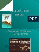 Biologia PPT - Evolucao I e II