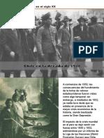CHILE en La Decada de 1930