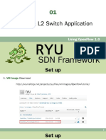 01 Set Up & L2 Switch Application