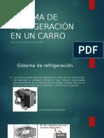 Sistema de Refrigeracion en Un Carro